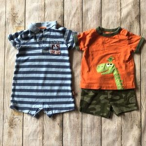 Set of Carter's boys six month outfits.